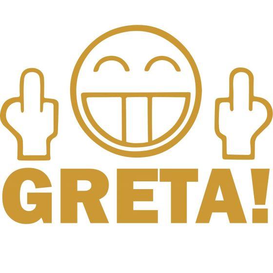 Aufkleber Set Feinstaubplakettefuck You Greta