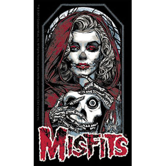 Misfits Aufkleber Lady and Skull