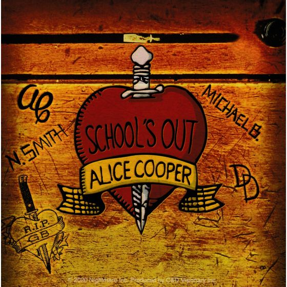 Aufkleber Alice Cooper Schools Out Album