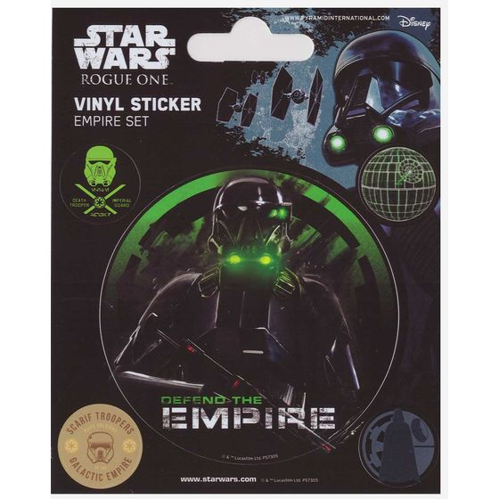 Star Wars Roque One Sticker Set