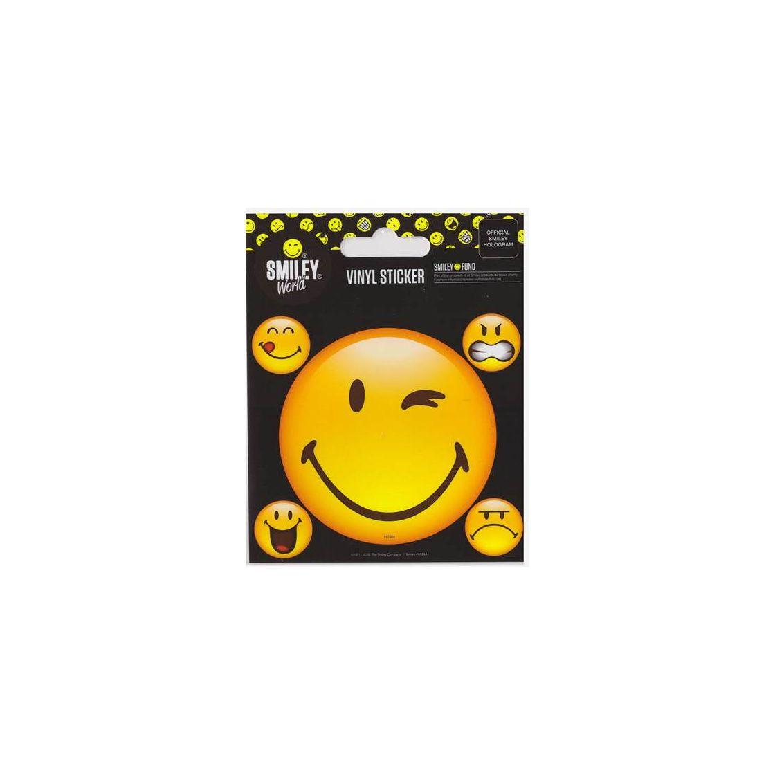 Smiley zwinkernder toihooktasupp: Smilie