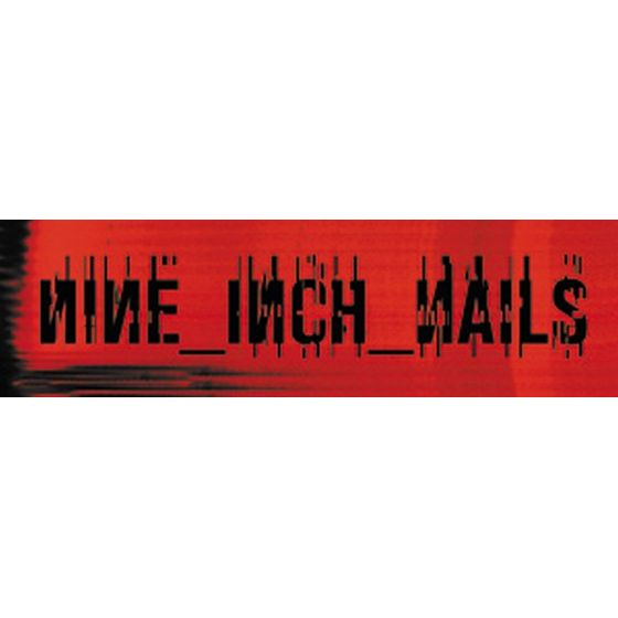 Nine Inch Nails Aufkleber Red Logo