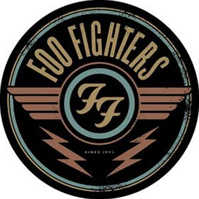 Foo Fighters Aufkleber Red Logo