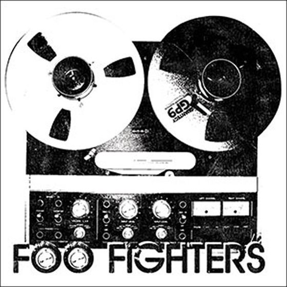 Foo Fighters Aufkleber Reel To Reel