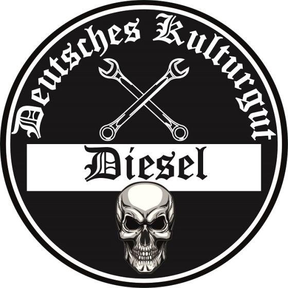 Aufkleber Diesel Feinstaubplakette