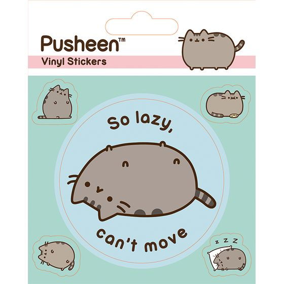 Pusheen The Cat Aufkleber Set
