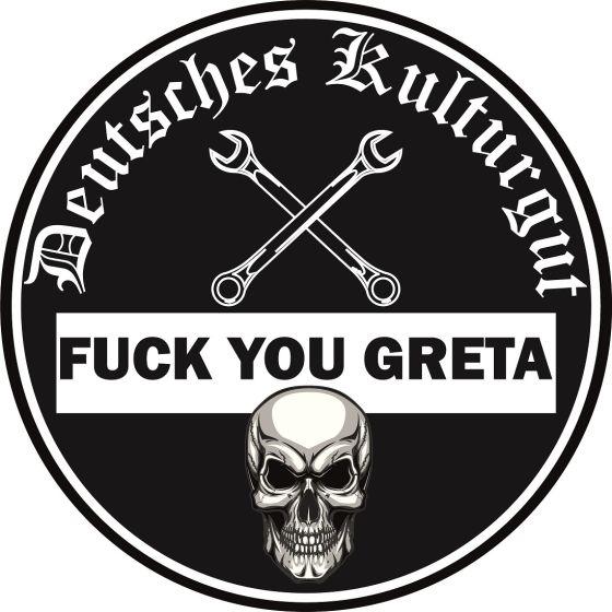 Ostdeutsches Kulturgut Feinstaubplakette Aufkleber Fick Dich